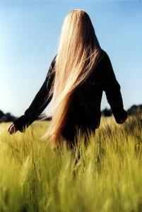 Уход за волосами продуктами NSP.