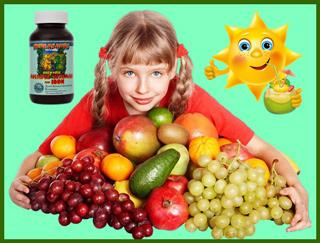 Польза  витаминов для детей