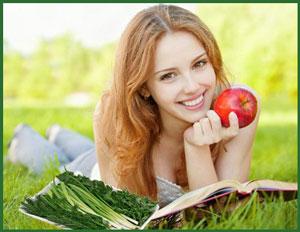 Польза зелени для здоровья
