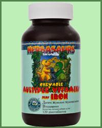 Витазаврики – Жевательные мультивитамины для детей