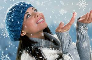 увлажнять кожу зимой