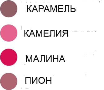 цвета помады