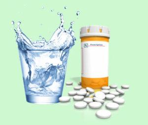 Чем запивать лекарство