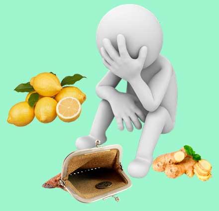 лимоны и имбирь есть ли альтернатива